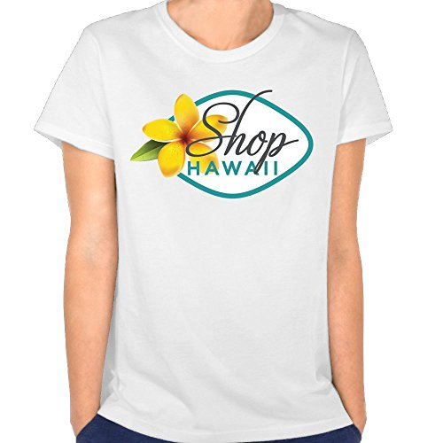 ZhangshuoShop Hawaii Women's Casual Round Neck Short Sleeve Tee - Clothing Stores Waikiki