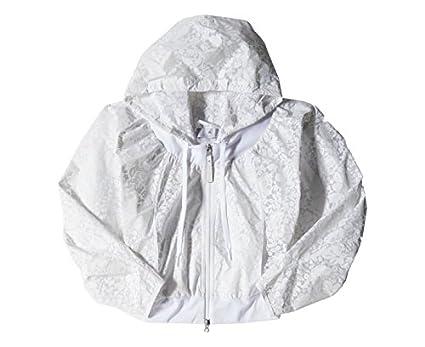 41af22ad56 adidas Veste Coupe-Vent Stella MC Cartney Tennis Blanc Femme: Amazon.fr:  Vêtements et accessoires