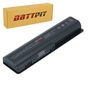 Battpit Recambio de Bateria para Ordenador Portátil HP 513775-001 (4400mah)