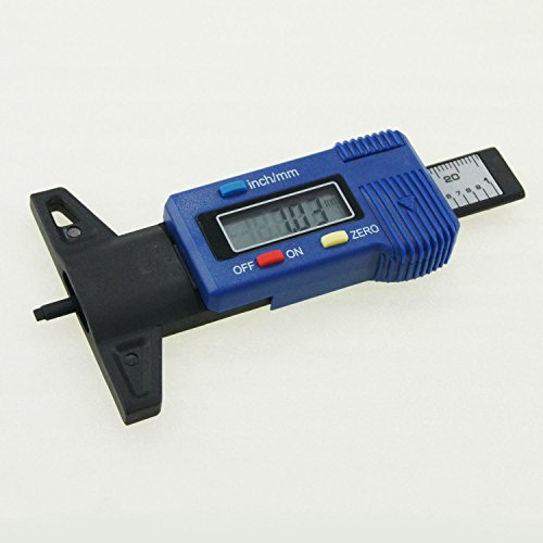 40141563 Carbon Fiber Electronic Digital Wheel Tyre Depth Measuring Gauge