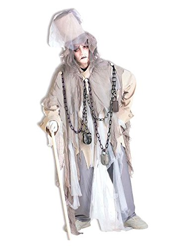 - Forum Novelties Men's Jacob Marley The Original Christmas Spirit Costume, Multi, Standard