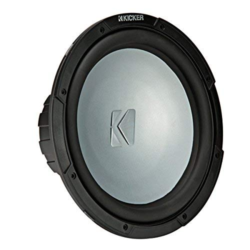 Kicker KMF10 10-inch (25cm) Weather-Proof Subwoofer for Freeair Applications, 4-Ohm