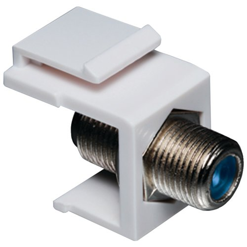 Datacomm 20-3202-WH Keystone Jack with 2.4 GHz F-Connector ()