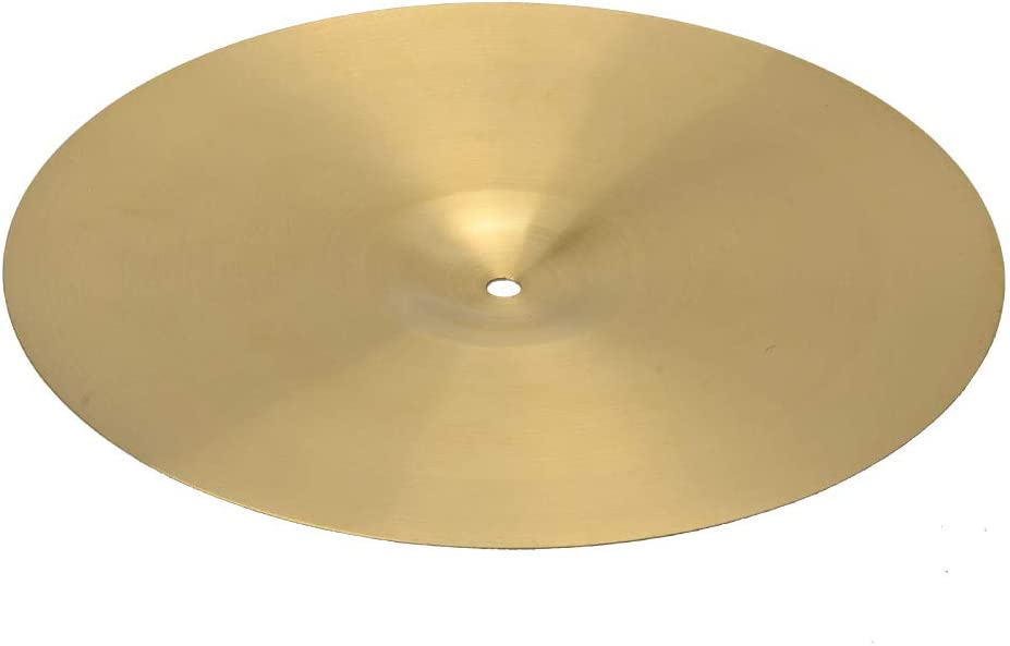 Professional 18 0.8mm Copper Alloy Ride Cymbal for Drum Set Golden Dig Out Your Deep Desire To Play Crazy and Shocking Melody