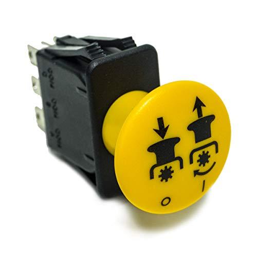 - Yellow PTO Clutch Switch for John Deere B1EM48 TCA17834 TCA21027 TCA22710