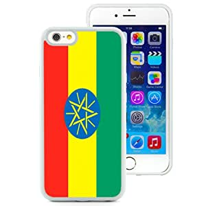 Beautiful Unique Designed Cover Case For iPhone 6 4.7 Inch TPU With Ethiopia Flag White Phone Case
