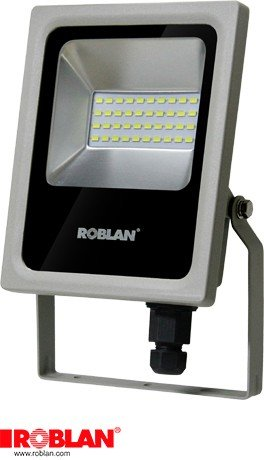 Roblan led - Proyector tc smd 10w 4000k 780lm ip65: Amazon.es ...