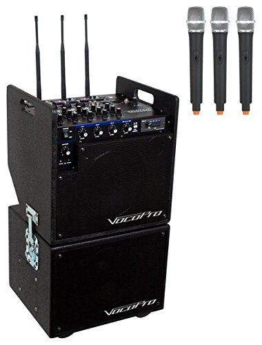 VocoPro Mobileman 2 Battery Powered P.A. System with (Vocopro Sub)