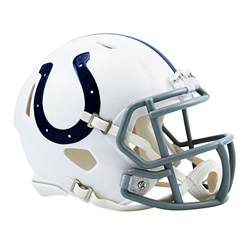 Helmet Authentic Mini Riddell Football - Riddell Indianapolis Colts Revolution Speed Mini Football Helmet