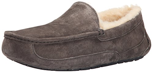 UGG Men's Ascot Slipper, Charcoal, 9 M US by UGG