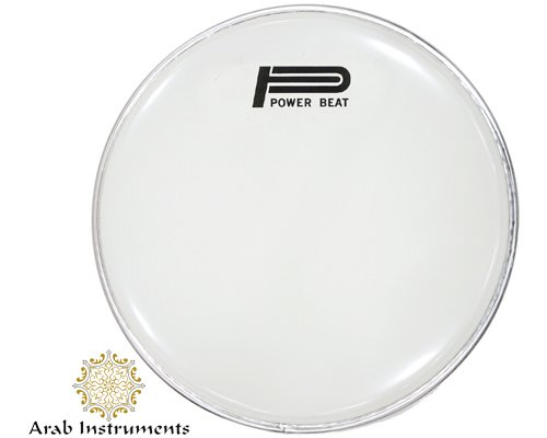 White Power Beat White Head / Skin for Doumbek / Darbuka 9'' (23 centimeter) by Power Beat