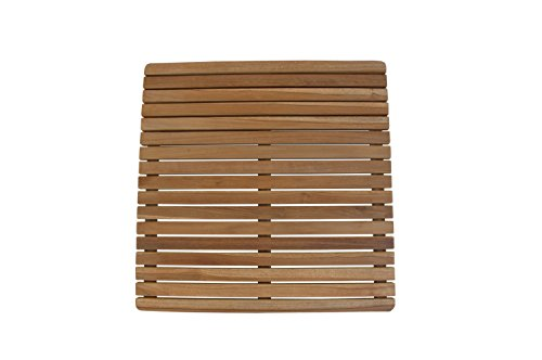 Anderson Teak SPA-6161 Square Shower Mat ()