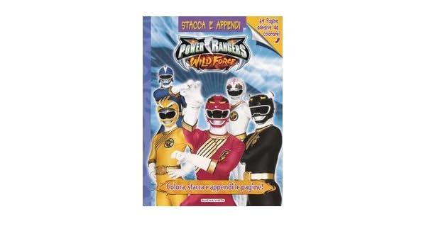 Powers Rangers. Wild Force (Stacca e appendi): Amazon.es ...