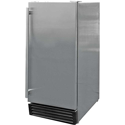 Cal Flame BBQ10710 Outdoor Stainless Steel Refrigerator by Cal Flame