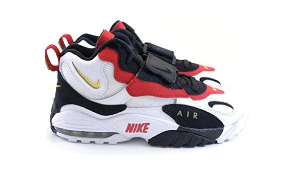 info for b2cf4 b9881 Amazon.com  Nike Air Max Speed Turf 49ers WhiteBlackGoldRed Marino Men  Shoes 525225 101 (15)  Basketball