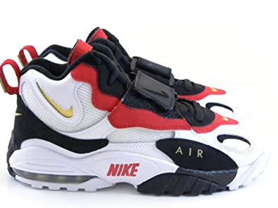 reputable site 9d784 6d7f1 Amazon.com | Nike Air Max Speed Turf 49ers White/Black/Gold ...