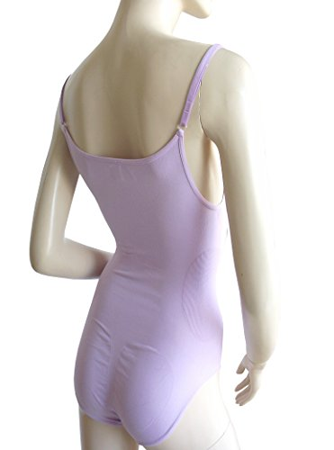 belly cloud figurformender Body seamless Spaghettibody zartviolett made in Italy Gr. M