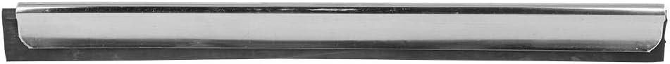 28CM Cafopgrill Raclette de vitre de Douche Raclette en Acier Inoxydable de raclette de Douche Racleur Nettoyant Raclette de vitre Miroir de Douche Raclette Raclette dessuie-Glace Raclette