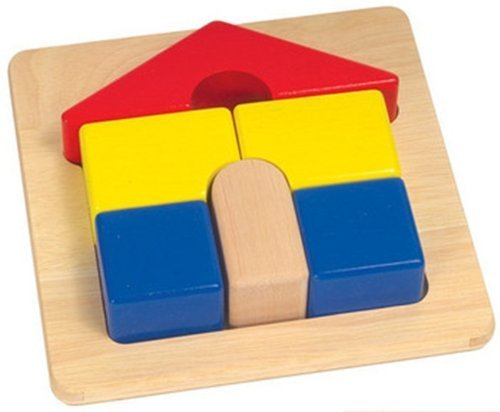 Guidecraft Primary Puzzle House