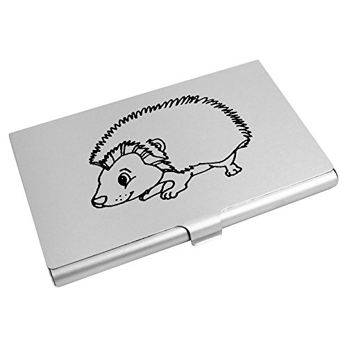 Azeeda Azeeda Card Wallet Business Card Holder CH00006713 'Hedgehog' 'Hedgehog' Credit gTdqc5wTxU