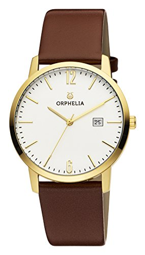 ORPHELIA Slimline Women's Brown Leather watch-OR51702-1