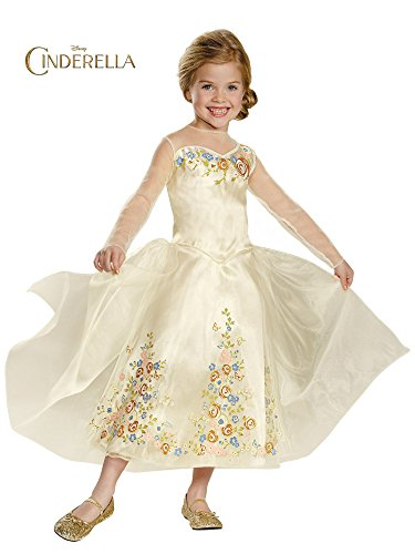 Disguise Cinderella Movie Wedding Dress Deluxe Costume