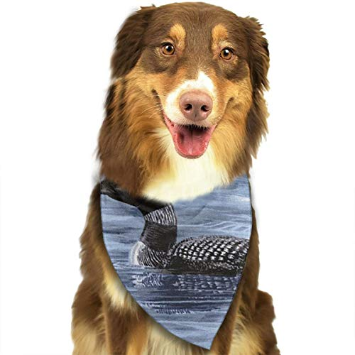 OURFASHION Loons Duck Animal Bandana Triangle Bibs Scarfs Accessories for Pet Cats and Puppies -