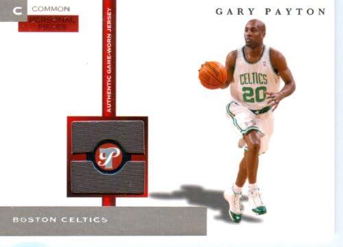 half off d8773 e4567 Amazon.com: 2005 Topps Pristine Authentic Gary Payton Game ...