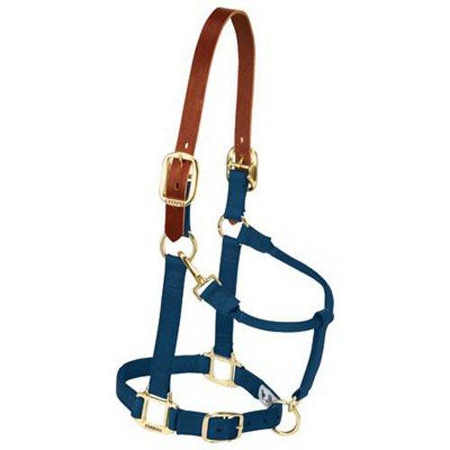 Weaver Leather Nylon Adjustable Breakaway Horse Halter, A...