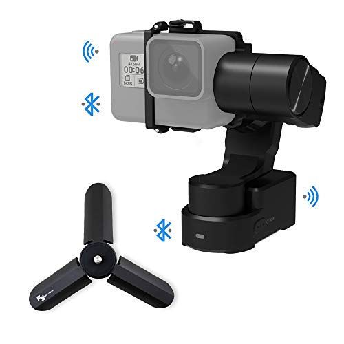 FeiyuTech Feiyu WG2X Splash-Proof 3-Axis Wearable Gimbal Stabilizer with 360° Pan and Tilt Rotation, Action Camera Gimbal