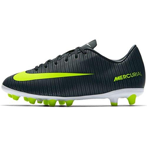 Nike 852484-376 Fußballstiefel, Kinder, Grün (Seaweed / Volt / Hasta / White), 35 1/2