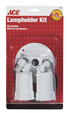 3 each: Ace Weatherproof Lampholder Cover Assembly (Weatherproof Lampholder)