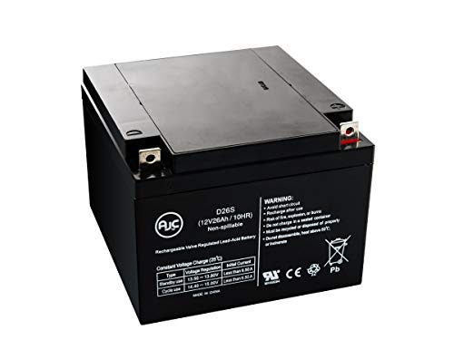 - Yuasa NP24-12B Sealed Lead Acid - AGM - VRLA Battery - This is an AJC Brand Replacement