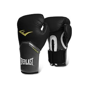 Everlast Pro Style Elite Training Boxing Gloves (Black , 8oz)