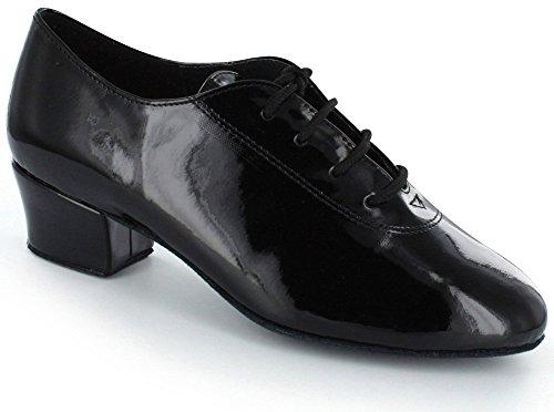 DSOL Boy's Latin Dance Shoes DC230602B (3, Black)