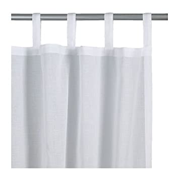 White Curtains black and white curtains ikea : Amazon.com : Ikea Wilma Curtains White : Other Products ...