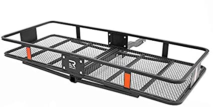 Cascade Folding Basket Style Cargo Rack with 2 inch Hitch Xander Bicycle Corporation 2787