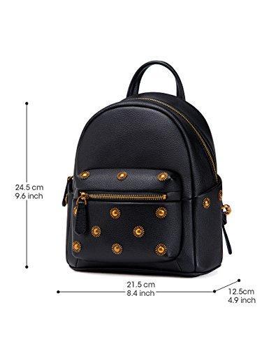 LA'FESTIN - Bolso mochila  para mujer Small negro