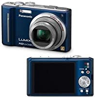 Panasonic Lumix DMC-ZS7 12.1 MP Digital Camera with 12x Optical Image Stabilized Zoom and 3.0-Inch LCD (Blue) (OLD MODEL)
