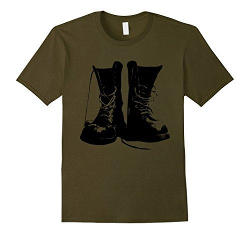 Mens Grunge Rock Boots Shirt 90s Punk Rocker Band Fashion Gift 2XL (90s Rock Costume)