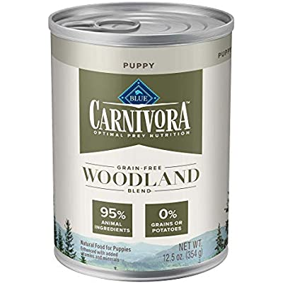 Blue Buffalo Blue Carnivora Woodland Blend Optimal Prey Nutrition High Protein, Grain Free Puppy Wet Food
