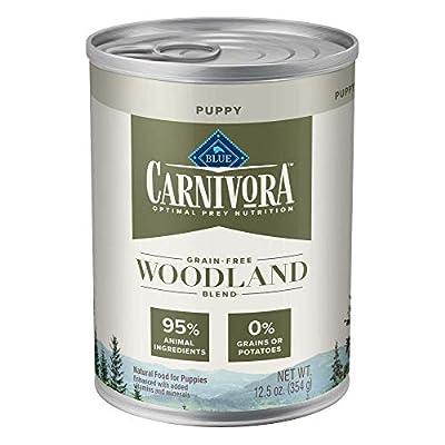 Blue Buffalo Blue Carnivora Woodland Blend Optimal Prey Nutrition High Protein, Grain Free Puppy Wet Food