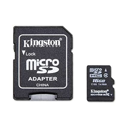Kingston Technology 16GB microSDHC Class 4 Custom Generic ...