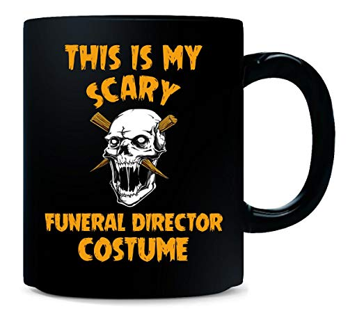 This Is My Scary Funeral Director Costume Halloween