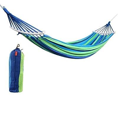 Raking Colorful Leisure Canvas Double 2 Person Cotton Fabric Canvas Travel Hammocks