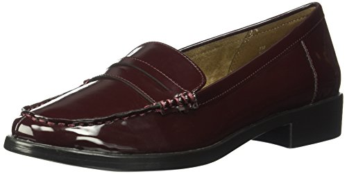 Aerosoles A2 Women's Side Dish Slip-on Loafer, Wine Patent, 6.5 M US