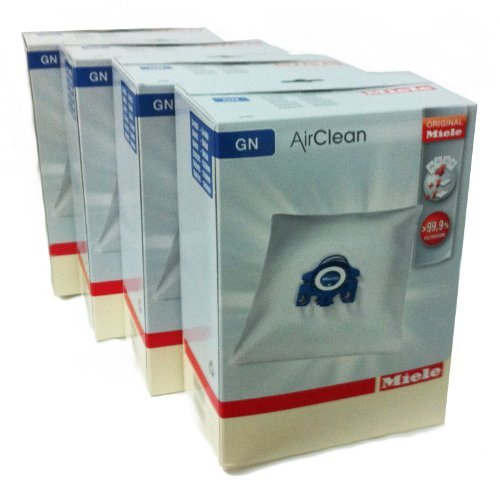 Miele Type G/N Airclean Filterbags, 4 Boxes