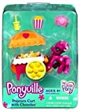 : My Little Pony: Ponyville Friends - Popcorn Cart with Cheerilee Playset