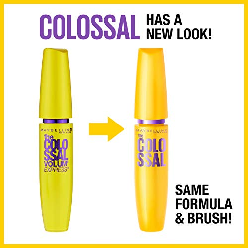 bee44b66ad0 ... Maybelline New York Makeup Volum' Express The Colossal Washable Mascara,  Glam Black Mascara, ...