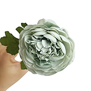 MZjJPN Artificial Fake Western Rose Flower Peony Bridal Bouquet Wedding Home Decor Artificial Plants for Decoration,2 7